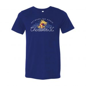 Navy T-shirt mock up